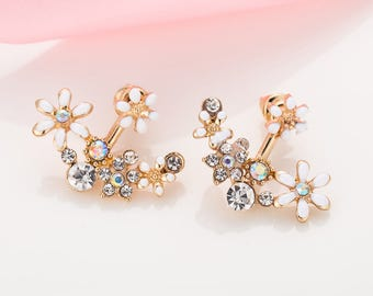 Daisy Flowers Earrings