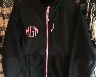 Monogram Zip Jacket