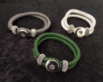Noosa style snap bracelet