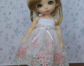 Lace dress for pukiFee and LaTi yellow