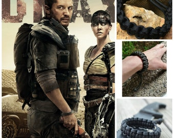 Mad Max Adjustable Gamers Paracord Survival Bracelet Tom Hardy Fury Road Christmas Gift