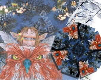 Friends of Flight - Umbrella - Fairy Owl