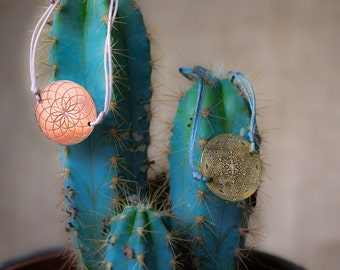 Lucky Culture  Mandala Jewellery Collaborations by various artists. TUBE TORUS