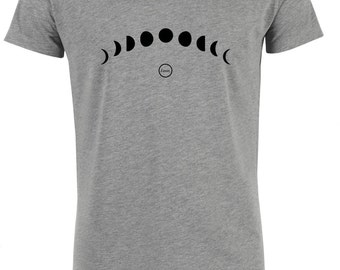 Lunar round neck T-shirt.