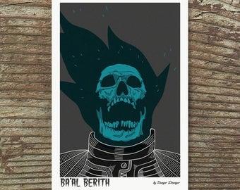 Ba'al Berith Art Print