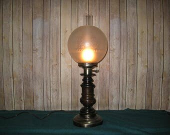 Gone With the Wind Globe Lamp