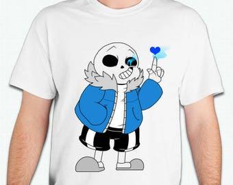Undertale Skeleton   Tshirt shirt