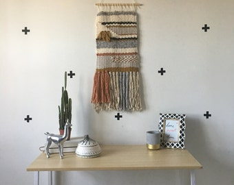 "Woven Wall Hanging- large ""Noon"""
