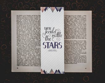 Rattle the Stars - Throne of Glass inspired bookmarks