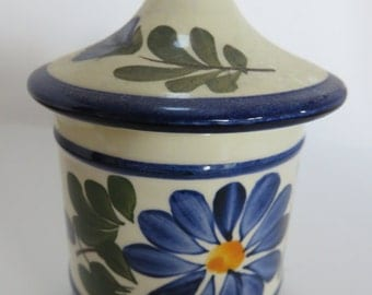 "Ceramic Pot ""Quimper"" Vintage The 80's"