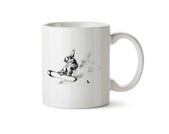 Snow Boarder Mug