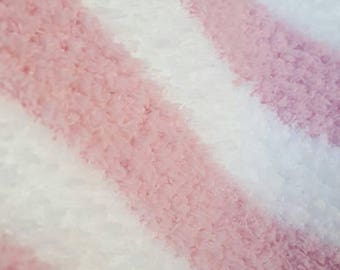 Ultra soft, fluffy knit blanket