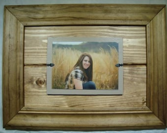Handmade Wooden Picture Frame 5x7