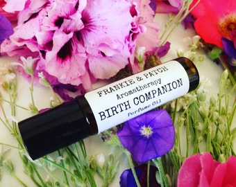 Birth Companion natural vegan Perfume oil for an expecting mum