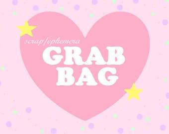 scrap/ephemera junk journal GRAB BAG