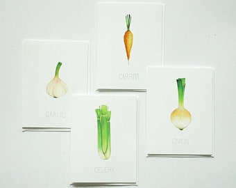 Veggie Card Four Pack