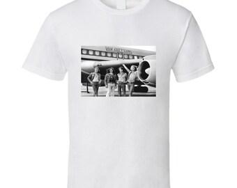 Led Zepplin Plane Tshirt (all Colors Available)