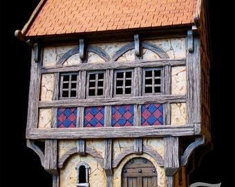 Medieval house 3 (ech 30mm, resin kit)