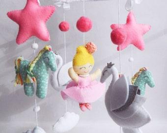 Baby mobile -Ballerina