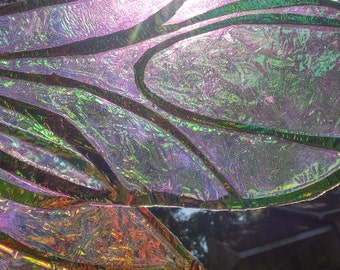 how to make cellophane fairy wings