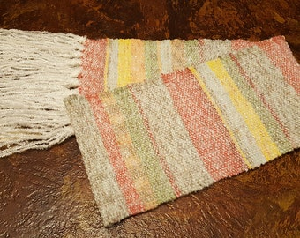 Handwoven Textured Scarf - Ready to Ship - Free US Shipping