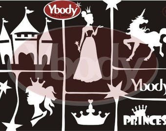 "Stencil set ""Princess"""
