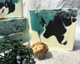 Eucalyptus Wave Cold Process Soap/ 100 % Natural Soap