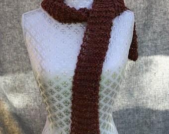 Rowan fine tweed scarf