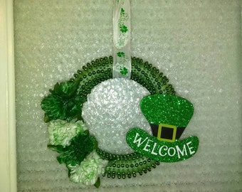 Saint Patrick's Welcome wreath