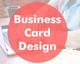 Business card, Business card design