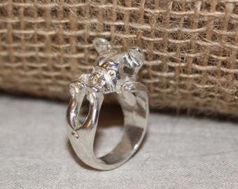 Ring 925 Silver handmade in italy
