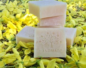 Papaya Natural Soap, Vegan, Lightening soap