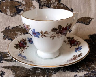 Delphine Tea Cup and Saucer