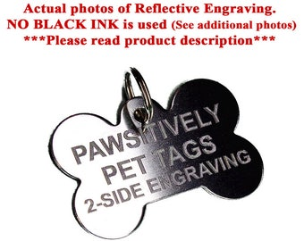 Custom dog tags Stainless steel pet ID tags for dogs and cats: Various shapes and sizes personalized for your pets