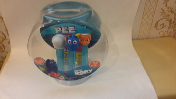 Disney finding dory pez dispensers with fish bowl