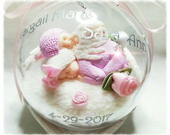 Bespoke Earth Baby & Angel Baby Globe
