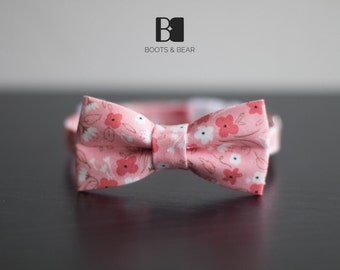 Pink Sakura Flower Cat Collar with or without Bow