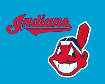 Indians Logo Etsy