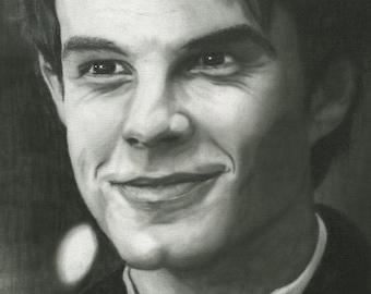 Print Nathaniel Buzolic (The Vampire Diaries)