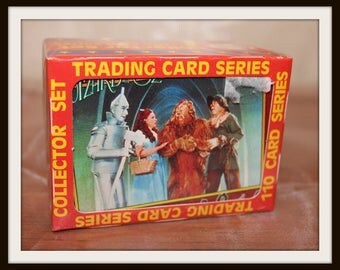 Vintage Wizard of Oz Trading Card Series Collector Set, Pacific Trading Cards, Hollywood Trading Cards, Collectible Trading Cards