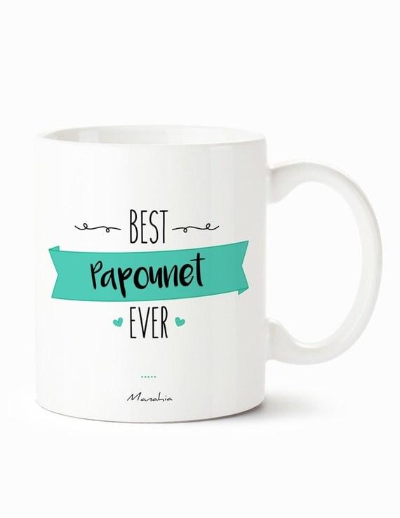 mug pour papa best papounet ever mug meilleur papa cadeau. Black Bedroom Furniture Sets. Home Design Ideas
