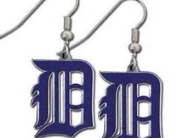 Detroit Tigers Dangle Earrings