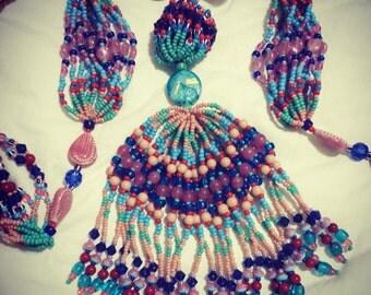 Orisha Oko eleke necklace collar (santeria, lukumi, ores oricha Yoruba)