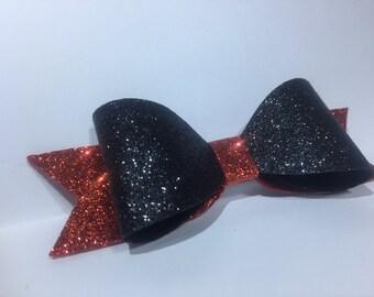 Glitter bow, hair accessories, bows