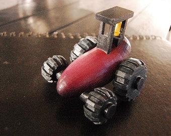 Aubergine Tractor - 3D Print