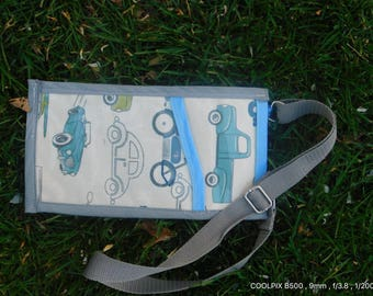 Childs invitation and tract bag with adjustable strap