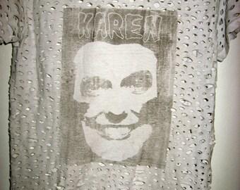 Karen Carpenter Shredded T-Shirt
