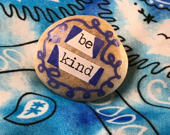 Be Kind painted rock