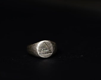 Ring for BJD, dollring,S9-Eye of Providence