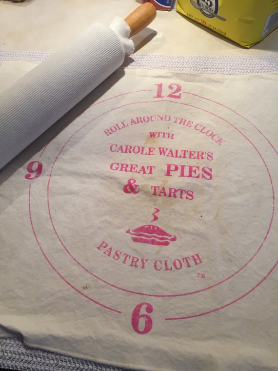 Carole Walter's Custom Pastry Cloth with 2 Sleeves